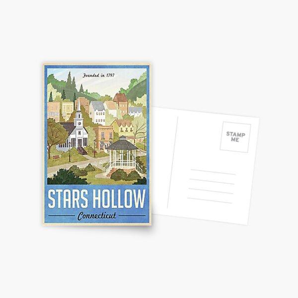 Stars Hollow Connecticut Postcard