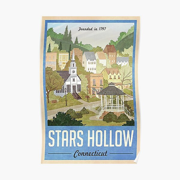 Stars Hollow Connecticut Poster