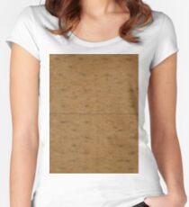 GRAHAM CRACKER (Textures) Women's Fitted Scoop T-Shirt