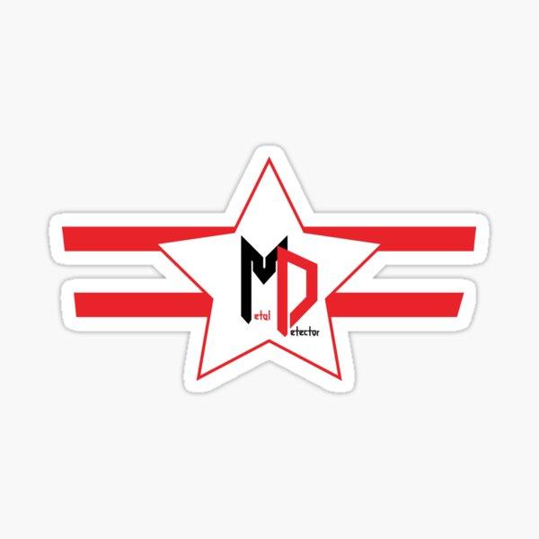 Metaldetector New Star Sticker