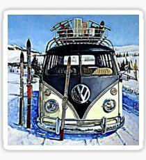 Ski Bus Sticker