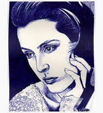 Gillian Anderson ballpoint Poster