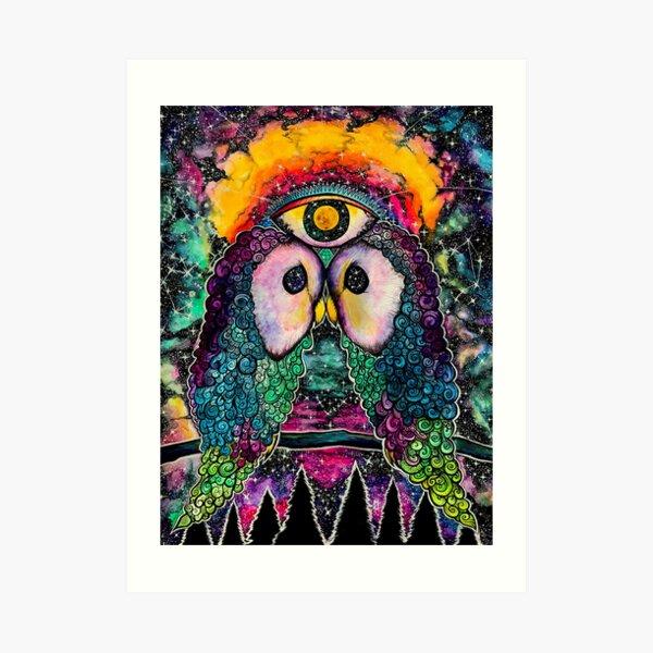 In Cosmic Unison Art Print