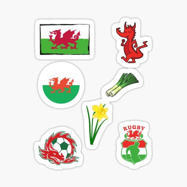 Pays De Galles Drapeau Kids Babygrow Welsh Rugby Supporter Sport Fan nouveau-né Cadeau