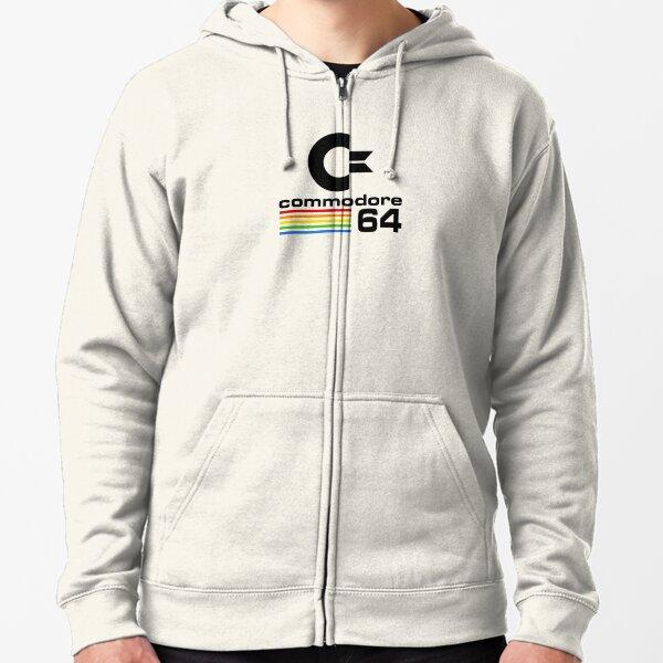 c64 Zipped Hoodie