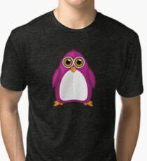 Violet Penguin 2 Tri-blend T-Shirt