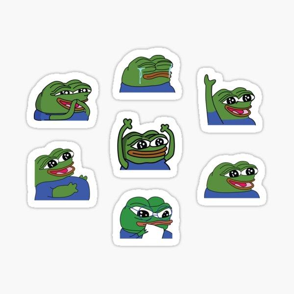 Peepo Twitch Emotes Pack 1 Sticker