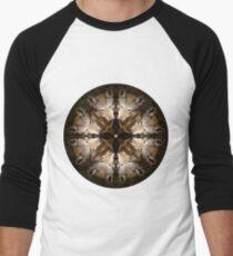 Camiseta ¾ estilo béisbol Consejo Mandala