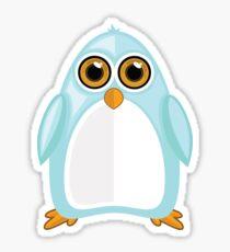Baby Blue Penguin 2 Sticker