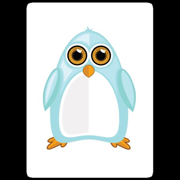 Baby Blue Penguin by Adamzworld