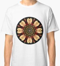 Camiseta clásica Lupin Glow Mandala