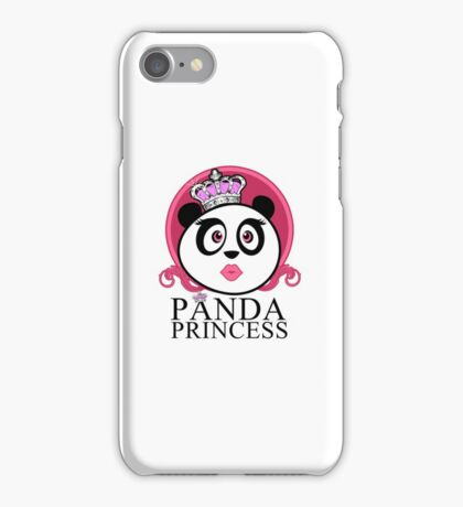 Panda Princess iPhone Case/Skin