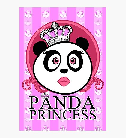 Panda Princess Photographic Print
