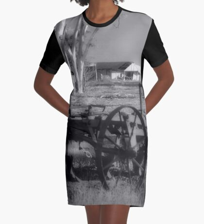 Remember Yesterday Graphic T-Shirt Dress