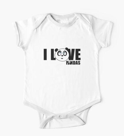 I love Pandas Kids Clothes
