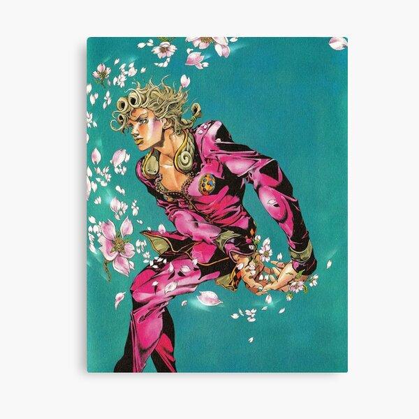 Fleurs Anime Man Impression sur toile