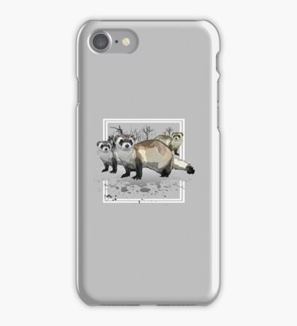 Ferrets iPhone Case/Skin