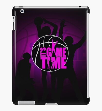 It's Game Time - Pink iPad Case/Skin