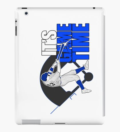 It's Game Time - Baseball (Blue) iPad Case/Skin