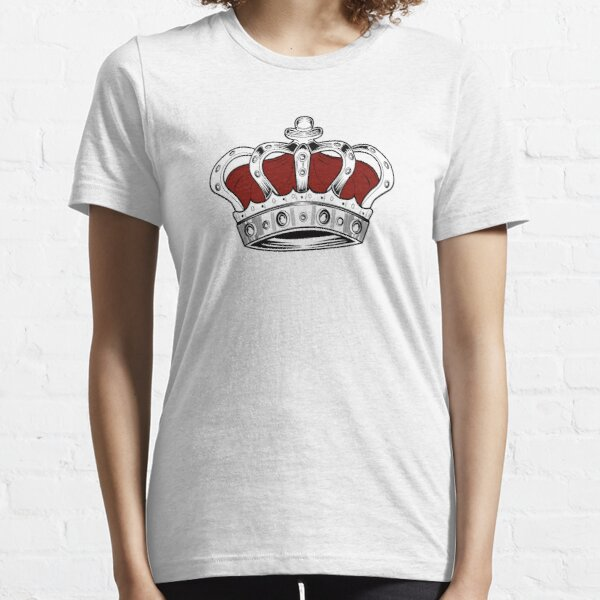 Crown - Red Essential T-Shirt