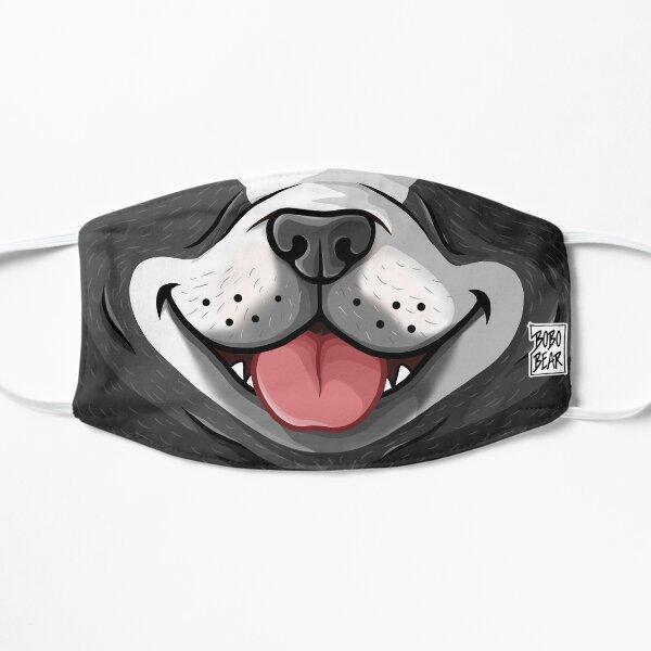 FRISKY FRENCHIE (BLACK & WHITE) - BEARZOO SERIES Flat Mask