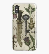(Super)natural History - Hunter's artefacts iPhone Case/Skin