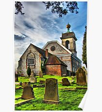St Lawrence Church Poster