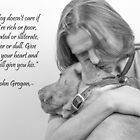 love of a dog by wendywoo1972