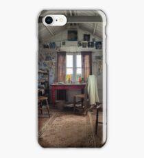 Dylan Thomas writing shed iPhone Case/Skin