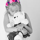 Teddy bear snuggle by wendywoo1972