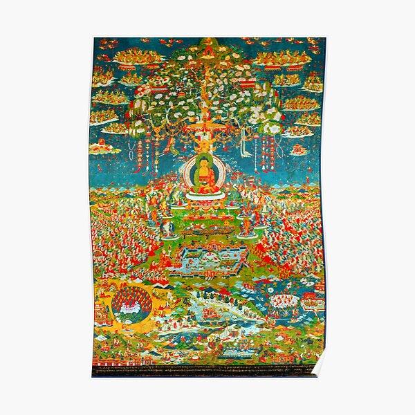 Amityaus Buddha Poster