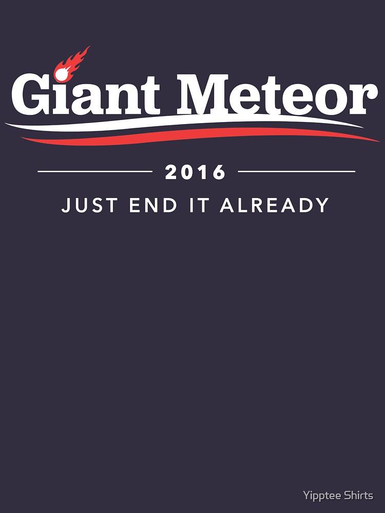 Großer Meteor 2016 beenden Sie es bereits T-Shirt von dumbshirts
