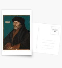 Erasmus of Rotterdam , Hans Holbein the Younger  Postcards