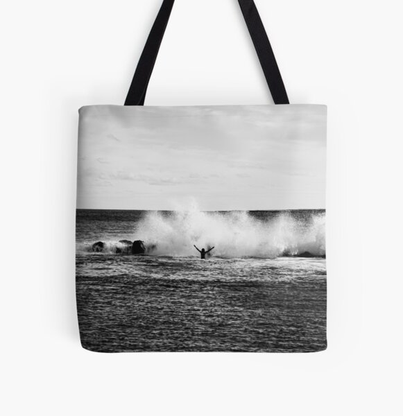 """""""Happy Jolly Good Fellow"""" All Over Print Tote Bag"""