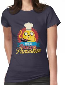 Jake The Dog. Womens Fitted T-Shirt