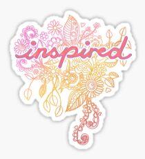 Inspired Sticker