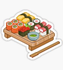 Pixelated Sushi  Sticker