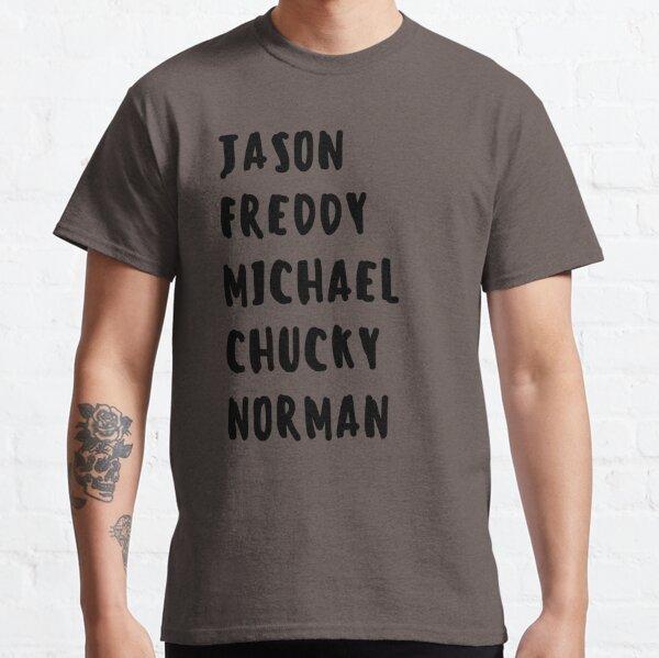 Favorite Horror Character Names Classic T-Shirt