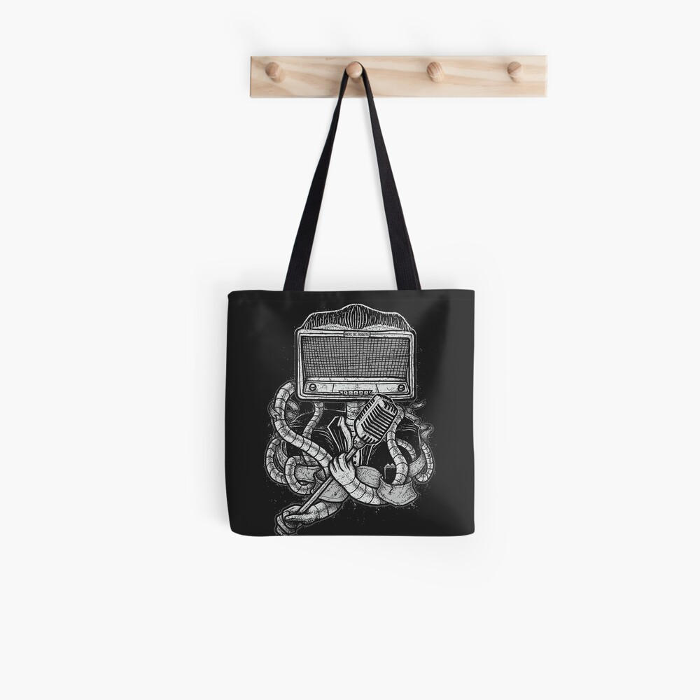 Robot Rock Tote Bag