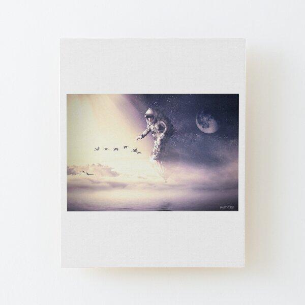 Fly  I  Vuela Wood Mounted Print