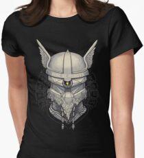 Viking Robot Women's Fitted T-Shirt