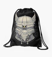 Viking Robot Drawstring Bag