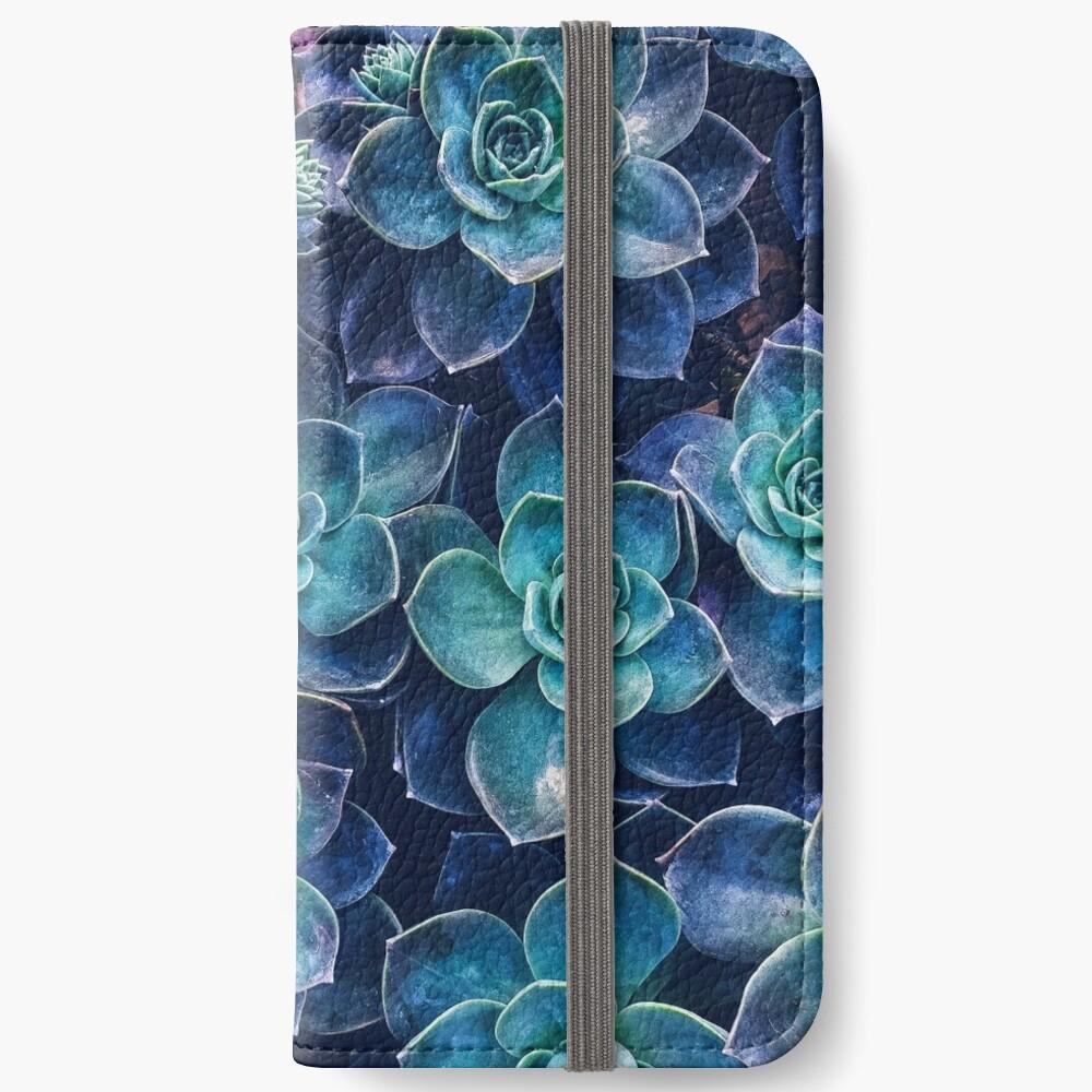 Sukkulenten iPhone Flip-Case