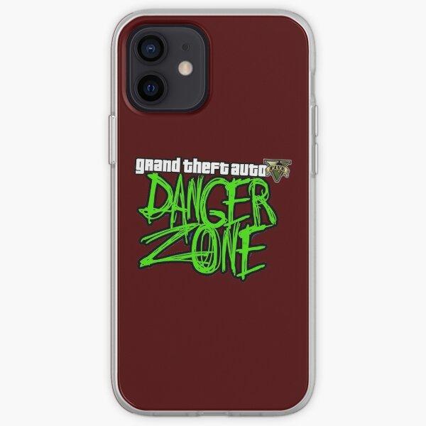 GTA V DangerZone Funda blanda para iPhone