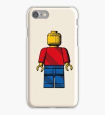 Lego Man - Plain iPhone Case/Skin