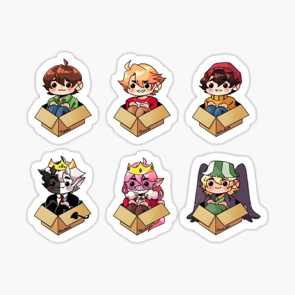 Sleepy Boi Boxes Sticker