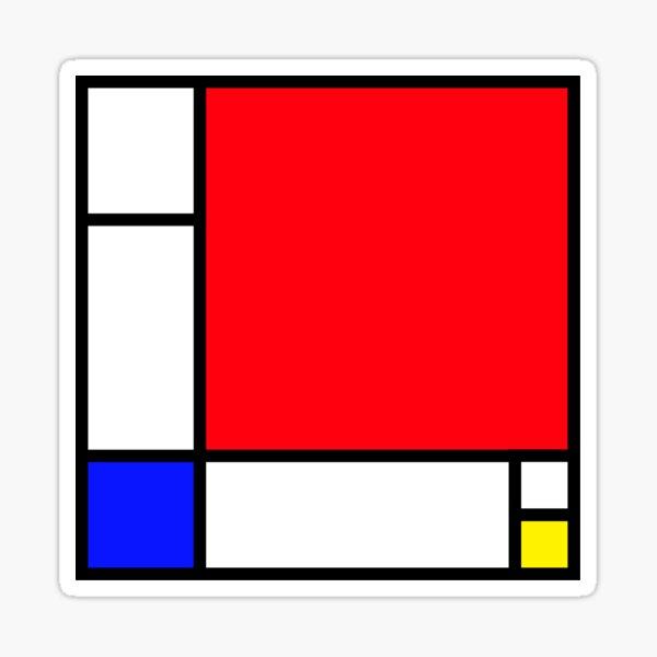 Squares_3 Sticker