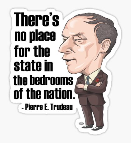 No Place for the State in the Bedrooms of the Nation Sticker