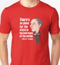No Place for the State in the Bedrooms of the Nation Unisex T-Shirt