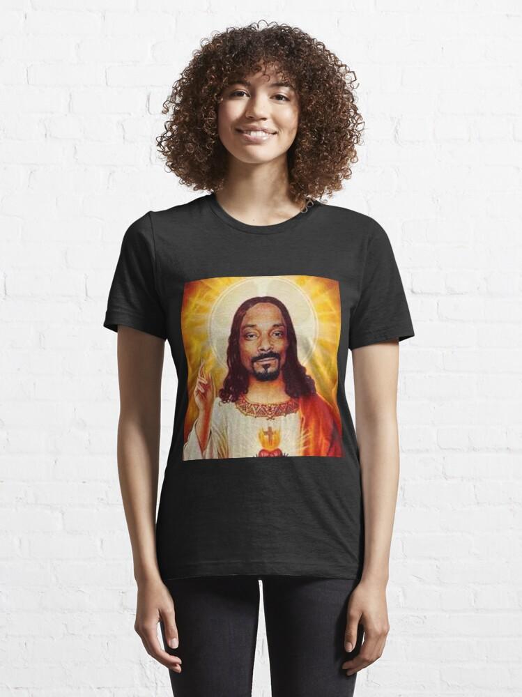 Alternate view of Snoop Dogg goes jesus  Essential T-Shirt